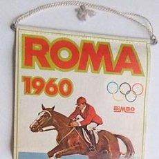 Coleccionismo deportivo: BANDERÍN JUEGOS OLIMPICOS ROMA 1960. Lote 202906280