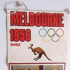 Coleccionismo deportivo: BANDERÍN JUEGOS OLÍMPICOS MELBURNE 1956. Lote 202906535