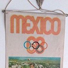 Coleccionismo deportivo: BANDERÍN JUEGOS OLÍMPICOS MÉXICO 1968. Lote 202906820