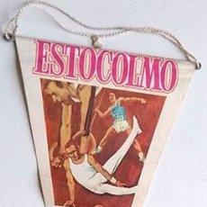 Coleccionismo deportivo: BANDERÍN JUEGOS OLÍMPICOS ESTOCOLMO 1912. Lote 202907167