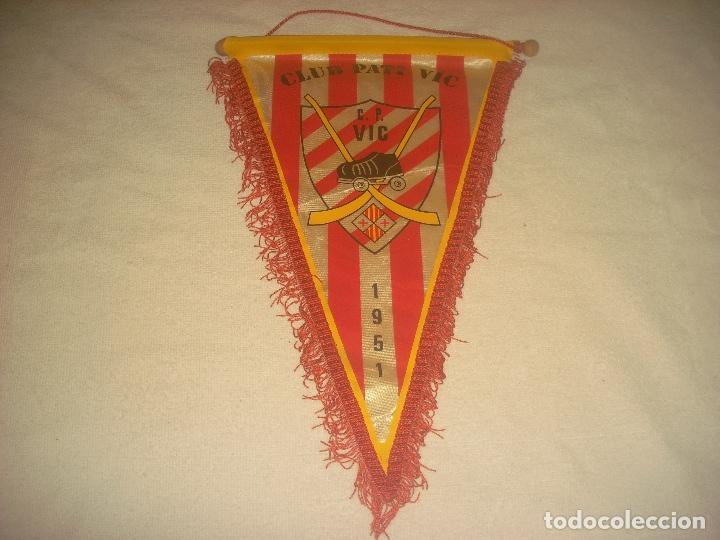 BANDERIN CLUB PATI VIC 1951 (Coleccionismo Deportivo - Banderas y Banderines otros Deportes)