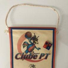 Coleccionismo deportivo: BANDERÍN Y PIN BLUEBIRD CLUB PT. PORTUGAL TELECOM PT. Lote 205534841