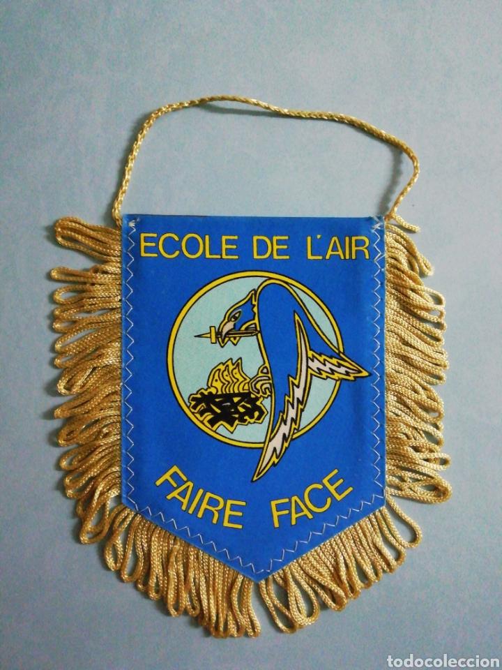 BANDERIN ECOLE DE L' AIR DE FRANCIA (Coleccionismo Deportivo - Banderas y Banderines otros Deportes)