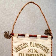 Coleccionismo deportivo: BANDERÍN OLIMPIADAS MÉXICO 68.. Lote 206813608