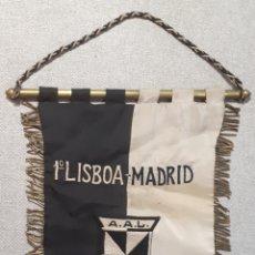 Coleccionismo deportivo: BANDERÍN 1947, ATLETISMO. 1° ENCUENTRO LISBOA-MADRID.. Lote 206816136