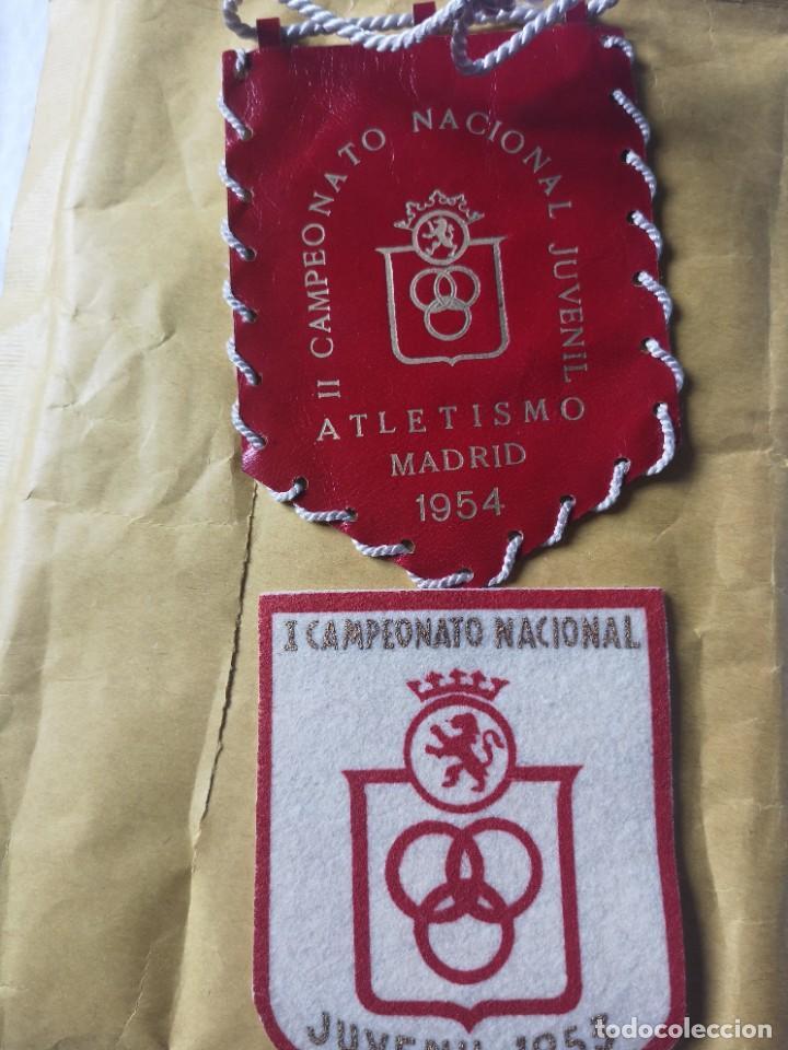 PARCHES CAMPEONATO NACIONAL JUVENIL 53 54 (Coleccionismo Deportivo - Banderas y Banderines otros Deportes)
