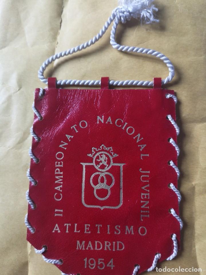 Coleccionismo deportivo: Parches campeonato nacional juvenil 53 54 - Foto 4 - 207073273