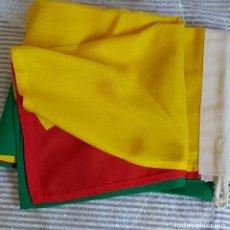 Coleccionismo deportivo: BANDERA LITUANIA 150X100 GENERO ACRILICO CON JARETA. Lote 210653341