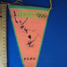 Coleccionismo deportivo: (F-200721)BANDERIN OLIMPIADAS MEXICO 68 - FEDERACION INTERNACIONAL PELOTA VASCA. Lote 210962304