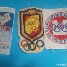 Coleccionismo deportivo: PARCHES OLIMPIADAS OSLO 1952 ORIGINAL. Lote 216003272