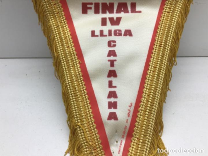 Coleccionismo deportivo: ANTIGUO BANDERIN BALONMANO GRANOLLERS - FINAL IV LLIGA CATALANA - Foto 2 - 216581536
