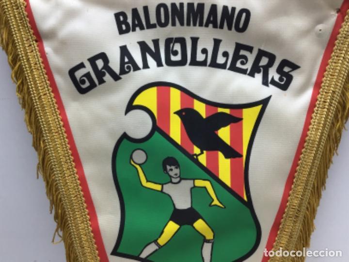 Coleccionismo deportivo: ANTIGUO BANDERIN BALONMANO GRANOLLERS - FINAL IV LLIGA CATALANA - Foto 3 - 216581536
