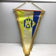 Coleccionismo deportivo: ANTIGUO BANDERIN BALONMANO - UNIO ESPORTIVA SARRIA - AÑOS 70 - SARRIA DE TER GIRONA. Lote 216586673