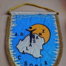 Coleccionismo deportivo: BANDERIN A. D. CALASANZ SORIA. Lote 216725671