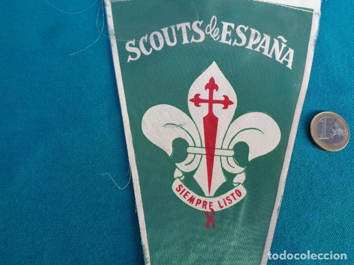BANDERIN SCOUTS DE ESPAÑA (Coleccionismo Deportivo - Banderas y Banderines otros Deportes)