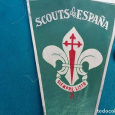 Collectionnisme sportif: BANDERIN SCOUTS DE ESPAÑA. Lote 225823250
