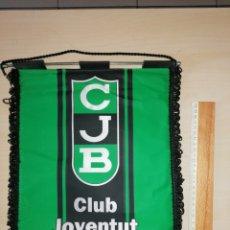 Coleccionismo deportivo: ANTIGUO BANDERIN CLUB JOVENTUT BADALONA. Lote 226015255