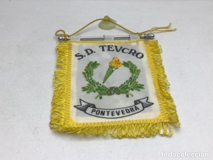 ANTIGUO BANDERIN BALONMANO - S.D. TEUCRO - PONTEVEDRA (Coleccionismo Deportivo - Banderas y Banderines otros Deportes)