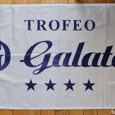 Coleccionismo deportivo: BANDERA REGATA TROFEO HOTEL GALATEA. CLUB NAUTICO PORTONOVO. Lote 234989865