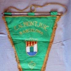Coleccionismo deportivo: BANDERIN C.N MONTJUIC BARCELONA. Lote 239594315
