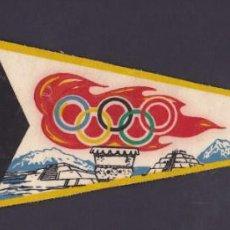 Coleccionismo deportivo: BANDERIN XIX OLIMPIADA DE MEXICO 1968. Lote 244542825