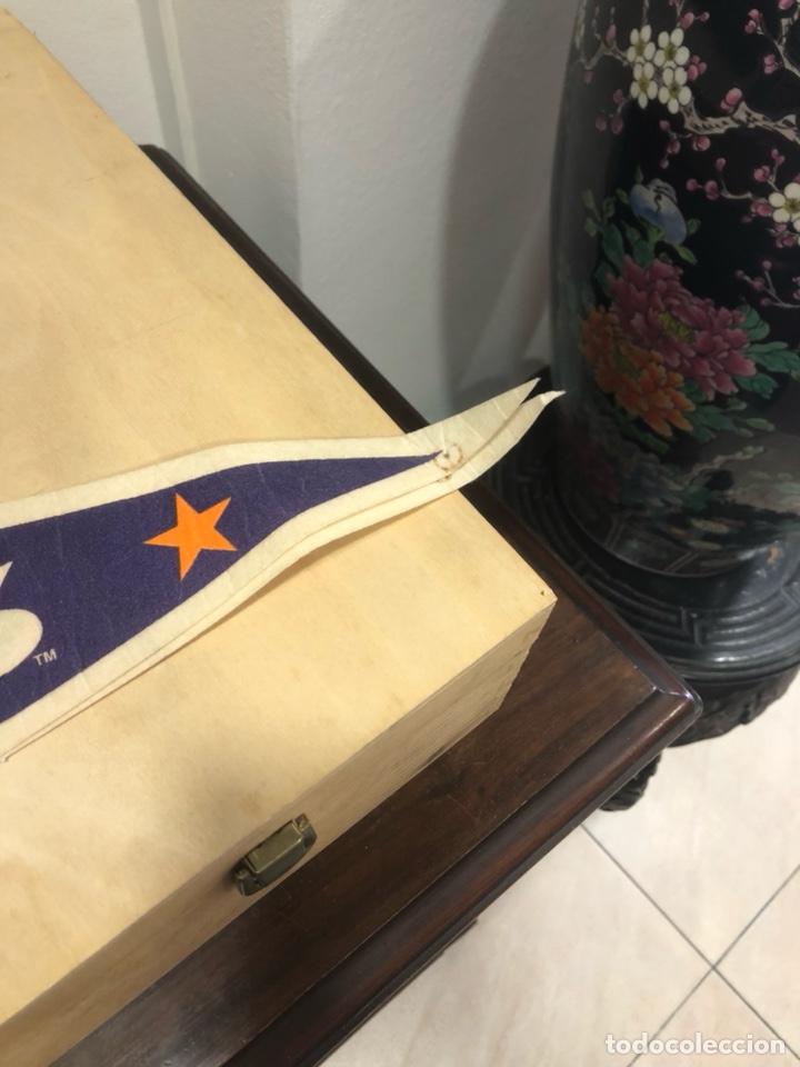 Coleccionismo deportivo: Lote de 4 banderines gran tamaño, oficiales NBA, años 80 - Foto 9 - 247315185