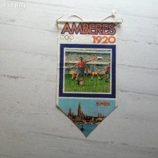 Coleccionismo deportivo: BANDERÍN JUEGOS OLÍMPICOS BIMBO OLIMPIADAS AMBERES 1920 ZAMORA. Lote 268593889