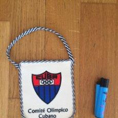 Coleccionismo deportivo: BANDERÍN. COMITÉ OLÍMPICO CUBANO. Lote 270528188