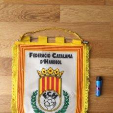 Coleccionismo deportivo: BANDERÍN. FEDERACIÓN CATALANA DE BALONMANO/HANDBOL. Lote 270540128