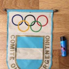 Coleccionismo deportivo: BANDERÍN. COMITÉ OLÍMPICO ARGENTINO. Lote 270578213