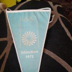 Coleccionismo deportivo: BANDERIN DE LAS OLIMPIADAS DE MUCHEN DE 1972. Lote 270912168