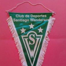 Coleccionismo deportivo: BANDERIN DE TELA SANTIAGO WANDERERS. Lote 273068718