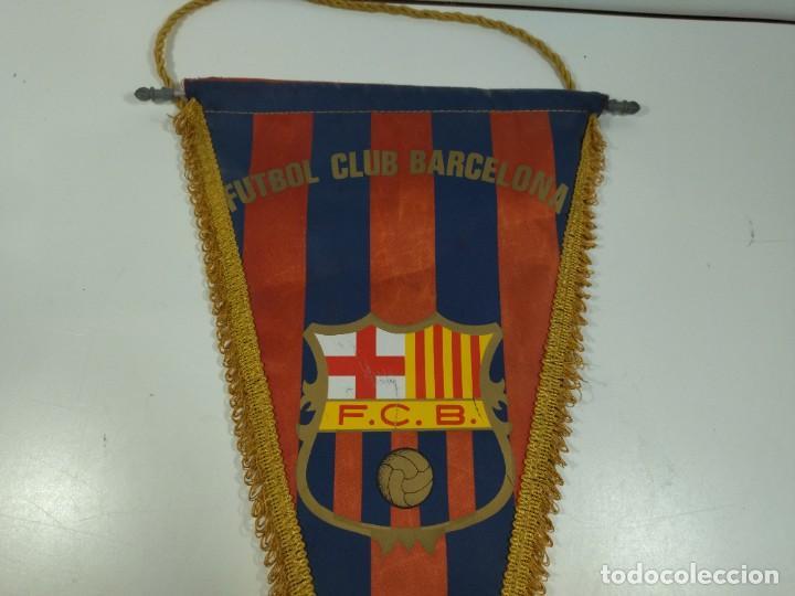 Coleccionismo deportivo: Banderín Fútbol Club Barcelona - Foto 2 - 276290383