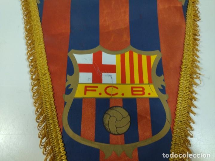 Coleccionismo deportivo: Banderín Fútbol Club Barcelona - Foto 4 - 276290383