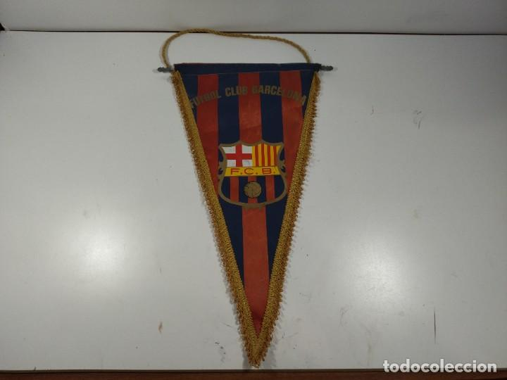 BANDERÍN FÚTBOL CLUB BARCELONA (Coleccionismo Deportivo - Banderas y Banderines otros Deportes)