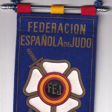 Coleccionismo deportivo: BANDERIN FEDERACION ESPAÑOLA DE JUDO KARATE AIKIDO KENDO. Lote 277026958