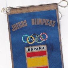 Coleccionismo deportivo: ANTIGUO BANDERÍN - JUEGOS OLIMPICOS MONTREAL 1976 ESPAÑA. Lote 277028568