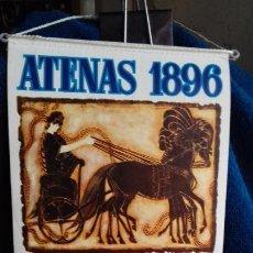 Coleccionismo deportivo: OLIMPIADA ATENAS 1896 BANDERIN COLECCION BIMBO. Lote 277074508