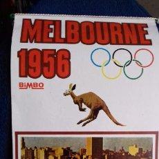 Coleccionismo deportivo: OLIMPIADA MELBOURNE 1956 BANDERIN COLECCION BIMBO. Lote 277076738