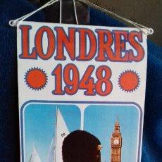 Coleccionismo deportivo: OLIMPIADA LONDRES 19R8 BANDERIN COLECCION BIMBO. Lote 277109878