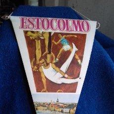 Coleccionismo deportivo: OLIMPIADA ESTOCOLMO 1912 BANDERIN COLECCION BIMBO. Lote 277109983