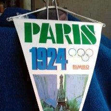Coleccionismo deportivo: OLIMPIADA PARIS 1924 BANDERIN COLECCION BIMBO. Lote 277110128