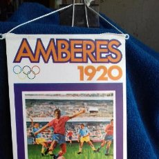 Coleccionismo deportivo: OLIMPIADA AMBERES 1920 BANDERIN COLECCION BIMBO. Lote 277110198