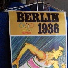 Coleccionismo deportivo: OLIMPIADA BERLIN 1936 BANDERIN COLECCION BIMBO. Lote 277110278
