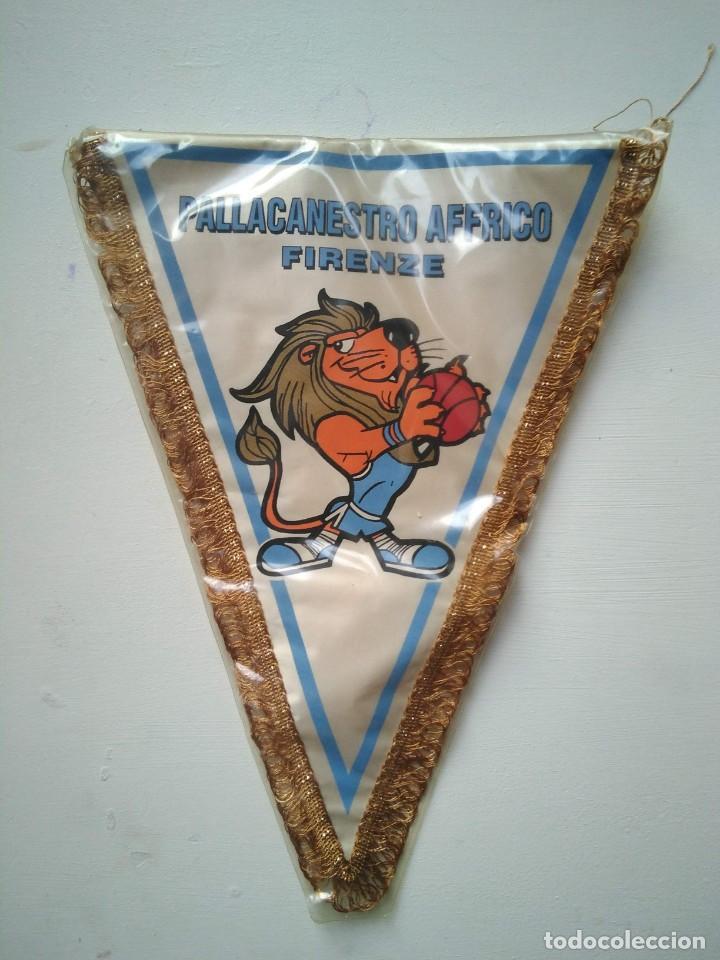 ANTIGUO BANDERÍN PALLACANESTRO AFFRICO FIRENZE (Coleccionismo Deportivo - Banderas y Banderines otros Deportes)