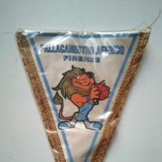 Coleccionismo deportivo: ANTIGUO BANDERÍN PALLACANESTRO AFFRICO FIRENZE. Lote 278413533