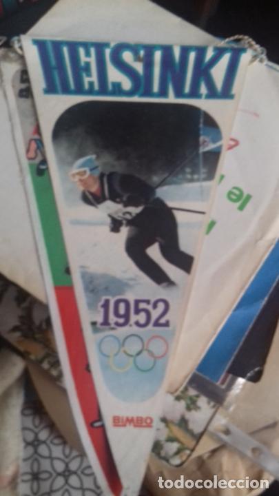 HELSINKI BANDERÍN OLIMPIADA 1952 BANDEIN (Coleccionismo Deportivo - Banderas y Banderines otros Deportes)