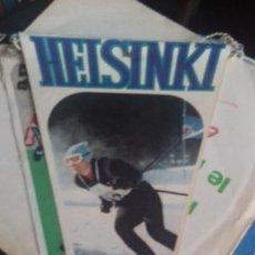 Coleccionismo deportivo: HELSINKI BANDERÍN OLIMPIADA 1952 BANDEIN. Lote 278452363