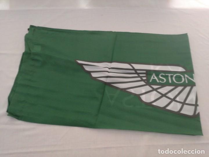 Coleccionismo deportivo: Bandera Aston Martin Racing,nuevo - Foto 2 - 288431863