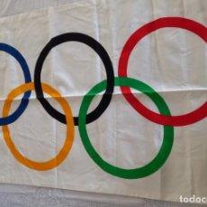Coleccionismo deportivo: BANDERA JUEGOS OLIMPICOS BARCELONA 92. Lote 289711093